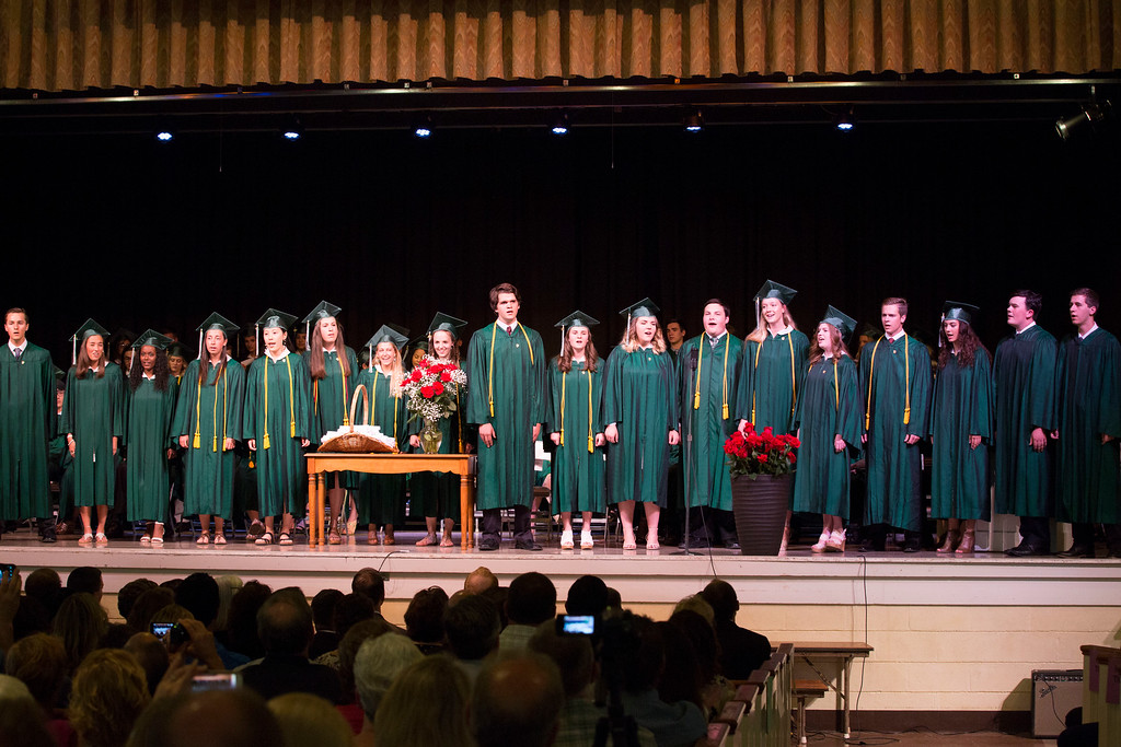 . Dock Mennonite Academy holds its commencement ceremony for the Class of 2017 June 10. Rachel Wisniewski - For Digital First Media