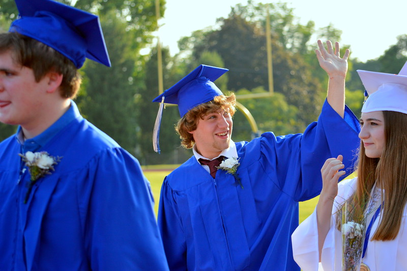 Springfield Township High School holds its graduation ceremony for the Class of 2017 June 14. Debby High - For Digital First Media