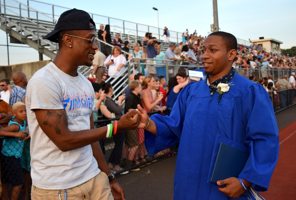 Springfield Township High School held its graduation