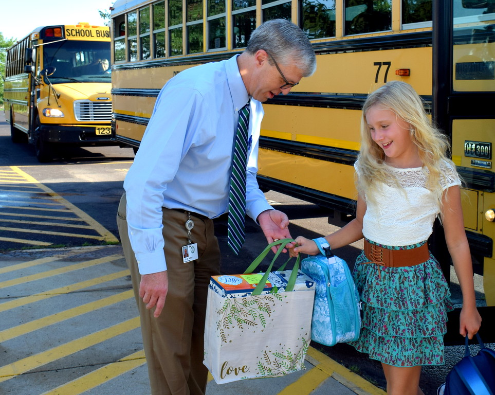 . The Pennridge School District welcomes students to their first day of school Tuesday, Sept. 4. Debby High � For Digital First Media