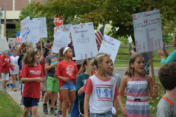 Erdenheim Elementary Constitution March - JRC-DailyLocal