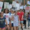 Erdenheim Elementary School 4th graders participate in Constitution March September 18, 2017. Gene Walsh — Digital First Media