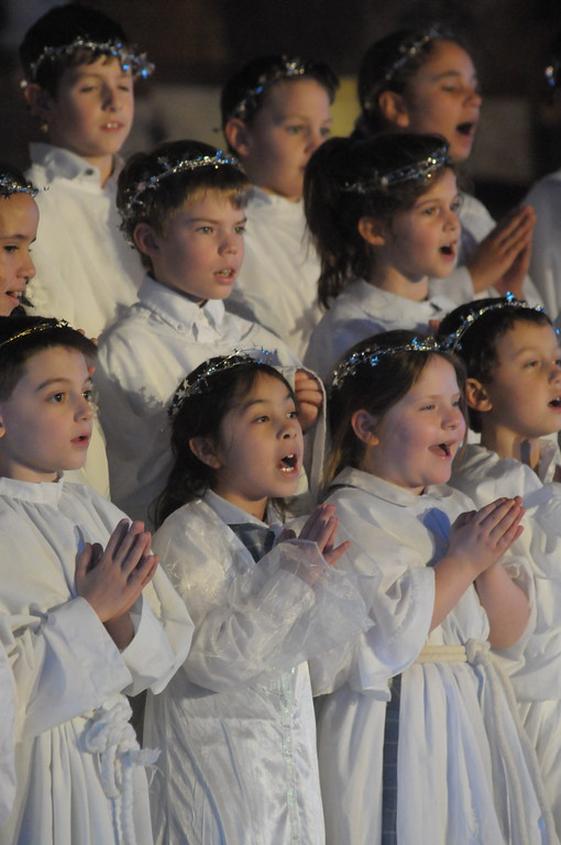 . Mater Dei holds annual Christmas Pageant at St. Stanislaus Church in Lansdale December 18, 2017. Gene Walsh � Digital First Media