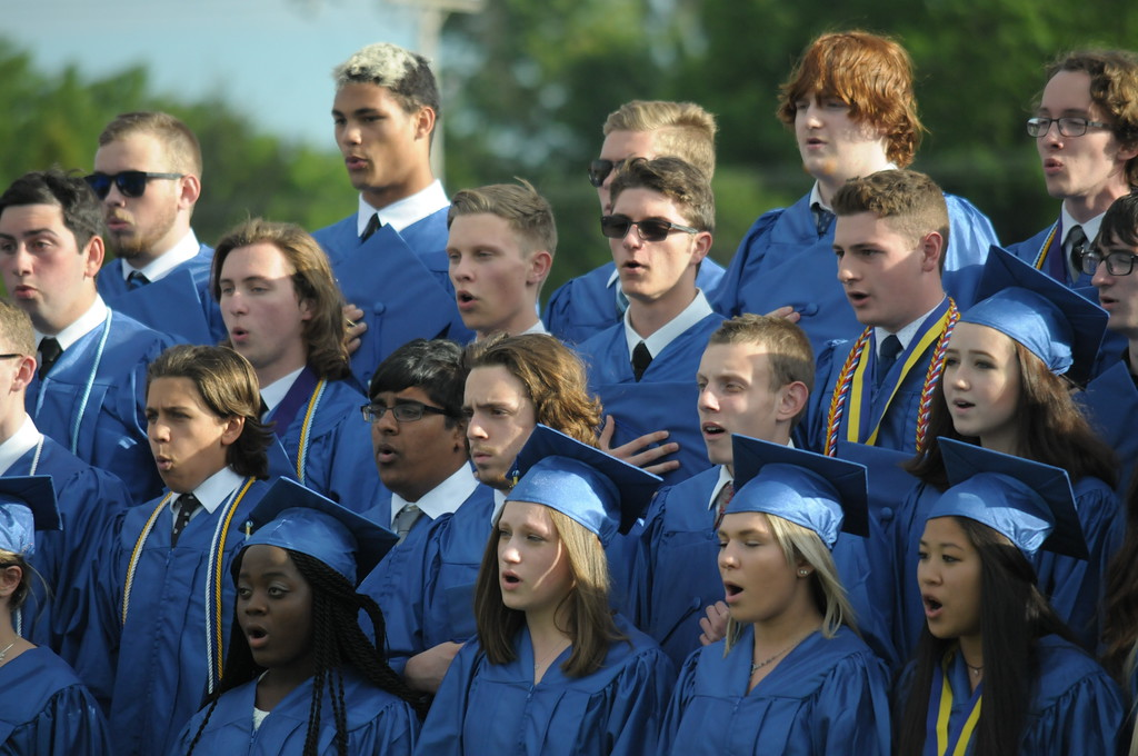 . North Penn High school commencement ceremonies June 8, 2017. Gene Walsh � Digital First Media