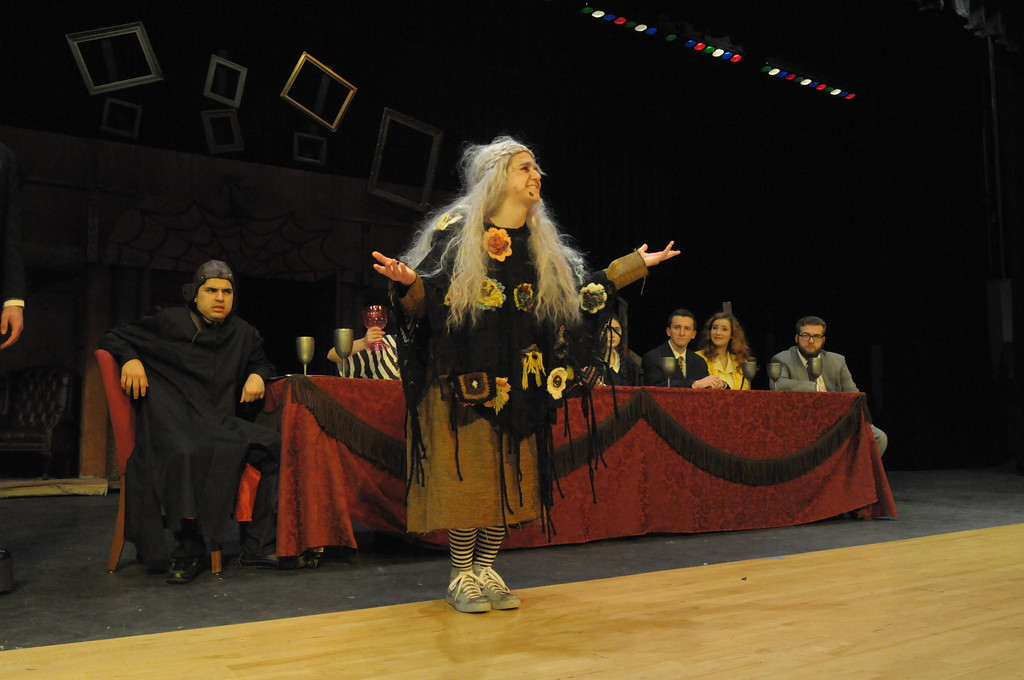 . Pennridge students rehearse for production of Addams Family March 27, 2018. Gene Walsh � Digital First Media