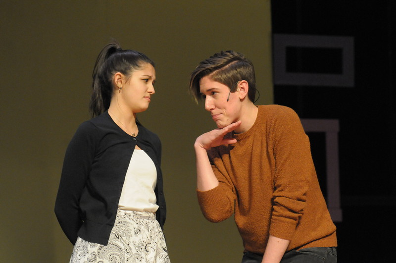 "Souderton High School students rehearse for production of ""Bye Bye Birdie"" March 26, 2018. Gene Walsh — Digital First Media"