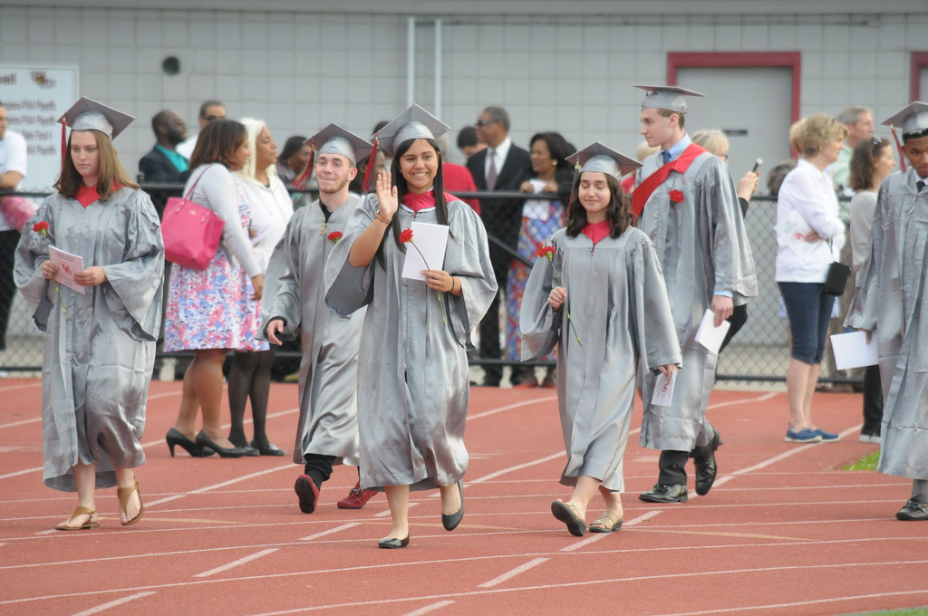 . Upper Dublin High School graduation June 11, 2018. Gene Walsh � Digital First Media
