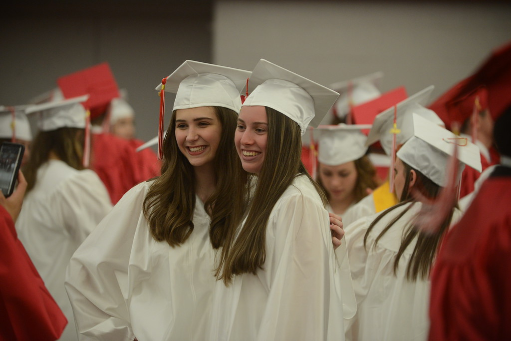 . Souderton Area High School graduation