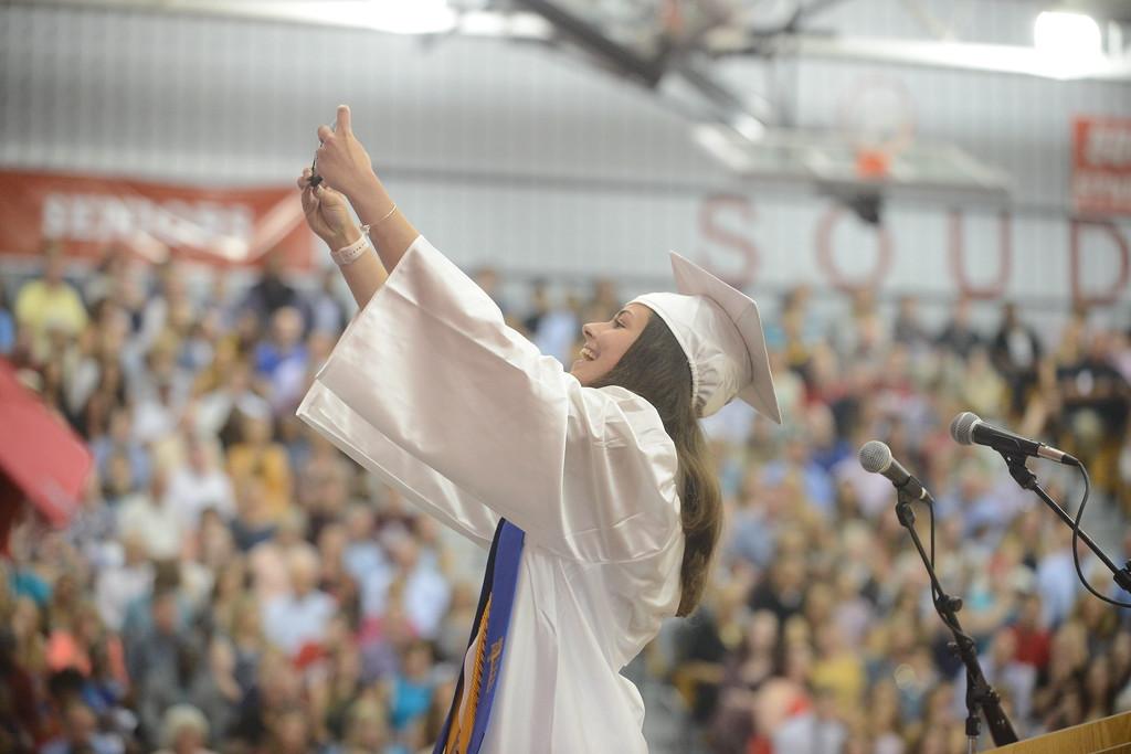 . Souderton Area High School graduation
