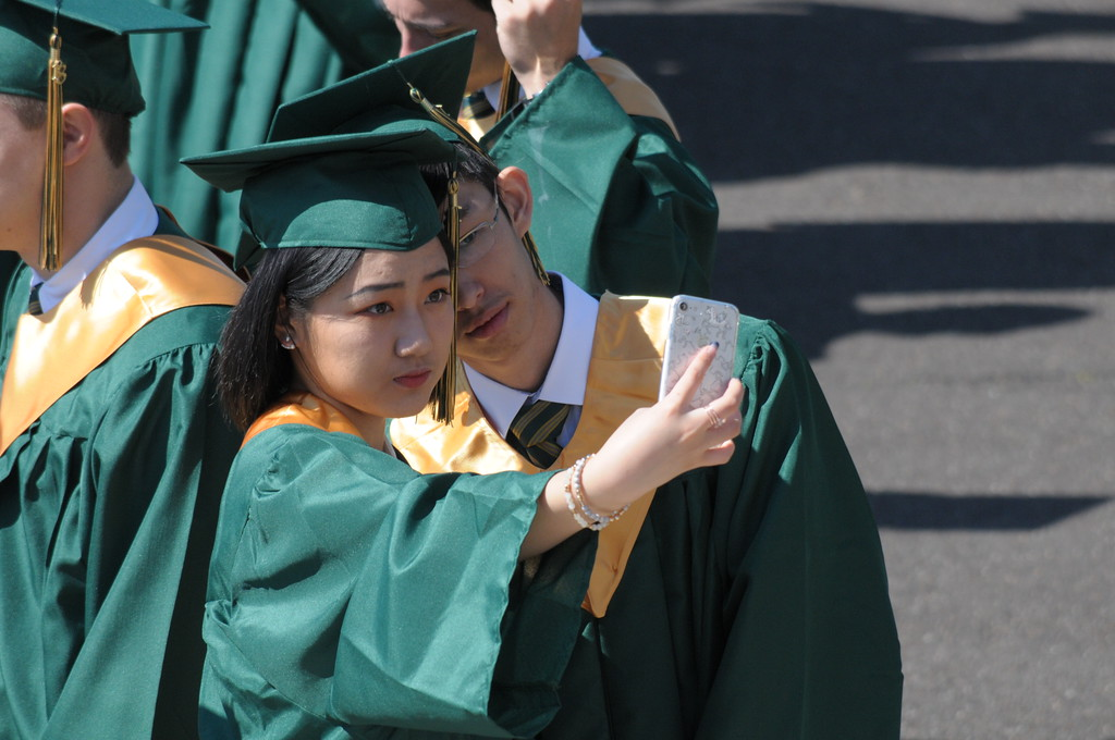 . Lansdale Catholic graduation June 5, 2018. Gene Walsh � Digital First Media