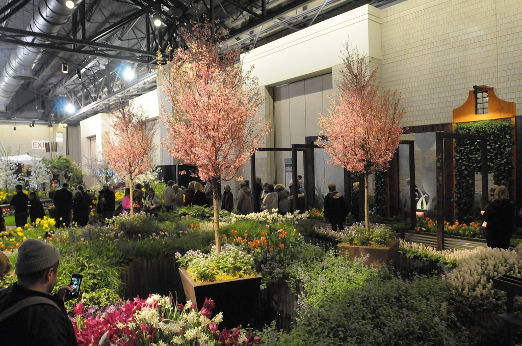 . Philadelphia Flower Show held at the Pennsylvania Convention Center March 15 , 2017. Gene Walsh � Digital First Media