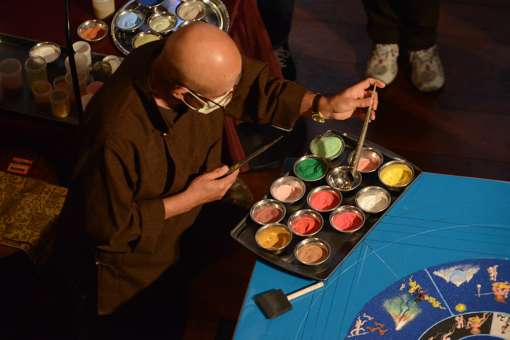 . Gene Walsh � MediaNews Group Sand Mandala created at Glencairn Museum in Lower Moreland April 26, 2019