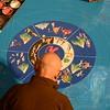 Gene Walsh — MediaNews Group<br /> Sand Mandala created at Glencairn Museum in Lower Moreland April 26, 2019
