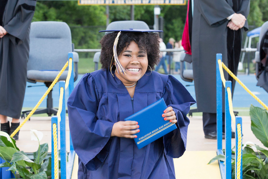 . Wissahickon High School held a commencement ceremony for the Class of 2017 Thursday, June 8, 2017. (Photo by Rachel Wisniewski � For Digital First Media)