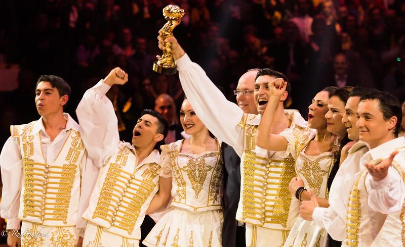 Guldfesten for cirkus' 250 års fødselsdag