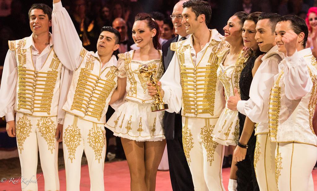 Richter-familien og Det ungerske Nationalcirkus har en stor tradition for akrobatik til hest