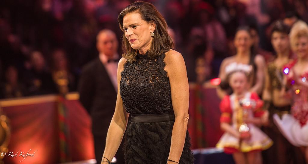 Prinsesse Stéphanie i højt humør, da hun som jury-president afslørede årets klovne-vindere