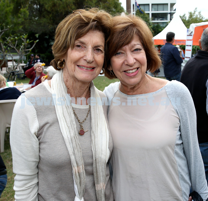 Jazz in The Grounds concert at Montefiore Home. Carole Karpin & Sue Inberg.