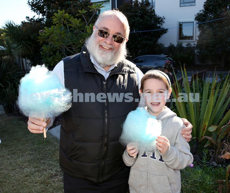 Montefiore Lag B'Omer Family Fun Day. Shimon (left) & Shmuli Joseph. Pic Noel Kessel.