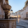 Early in the morning it is possible to photograph the famous churches and squares without the hordes of tourists who appear after breakfast