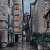 Street in the Old Town of Kotor, Montenegro