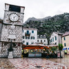 Clock Tower in Kotor's Main Square