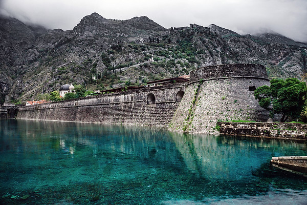 Kotor's City Wall, Montenegro