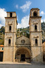 The Cathedral of St. Tryphon in Kotor, Montenegro.