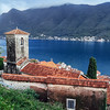Small town of Perast in Montenegro