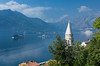 The village of Perast on the Bay of Kotor, Montenegro.