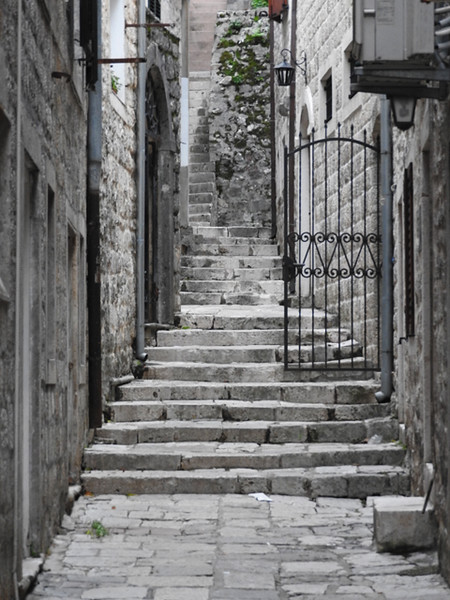 Foot Path in the Old City