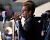MONTEREY, CA-SEPTEMBER 17: Huey Lewis & The News perform at the Monterey Jazz Festival in Monterey, CA on September 17, 2011. (Photo by Clayton Call/Redferns)