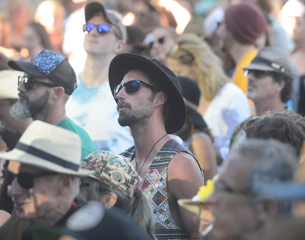 . Fans listen to Dr. Dog as the Monterey International Pop Festival Celebrates 50 Years at the Monterey County Fairgrounds and Event Center in Monterey on Saturday June 18, 2017. (David Royal - Monterey Herald)