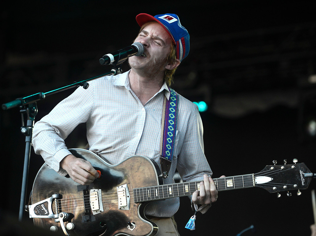. Scott McMicken performs with Dr. Dog as the Monterey International Pop Festival Celebrates 50 Years at the Monterey County Fairgrounds and Event Center in Monterey on Saturday June 18, 2017. (David Royal - Monterey Herald)