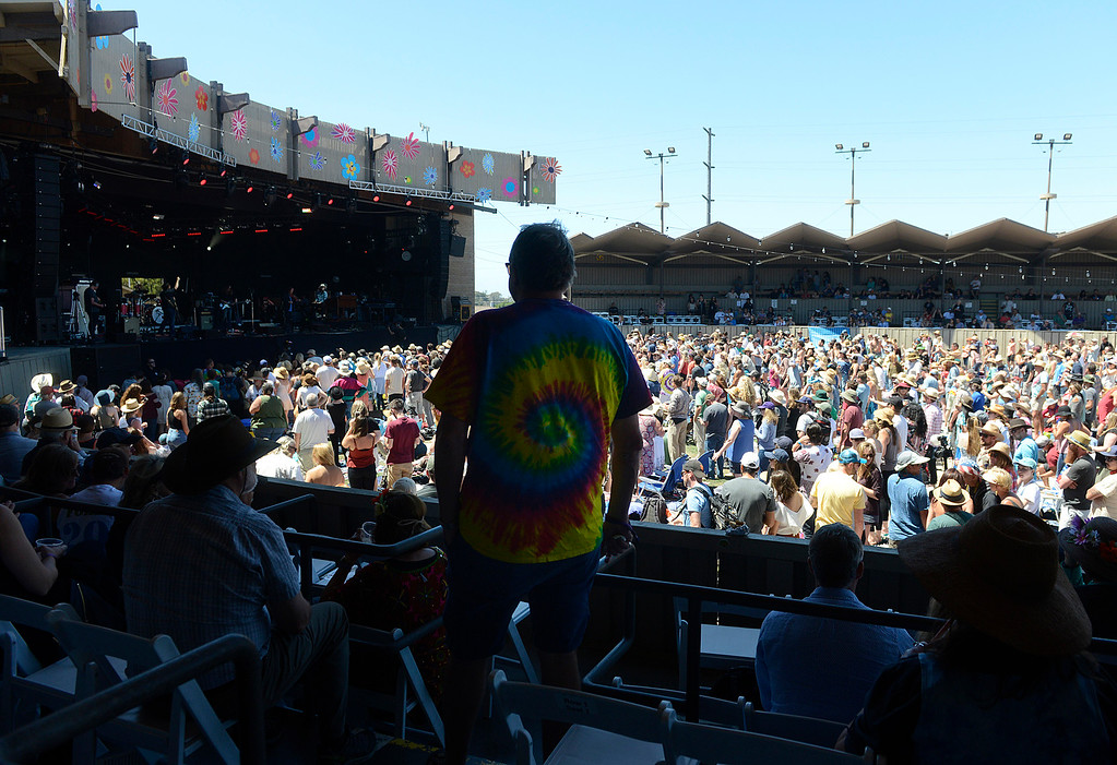 . Fans watch Jackie Greene perform as the Monterey International Pop Festival Celebrates 50 Years at the Monterey County Fairgrounds and Event Center in Monterey on Saturday June 18, 2017. (David Royal - Monterey Herald)