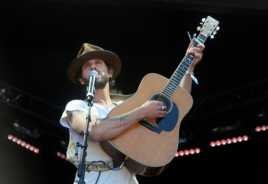 . Langhorne Slim & The Law play as the Monterey International Pop Festival Celebrates 50 Years at the Monterey County Fairgrounds and Event Center in Monterey on Friday June 16, 2017. (David Royal - Monterey Herald)