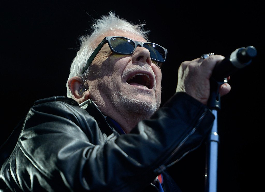 . Eric Burdon & The Animals perform as the Monterey International Pop Festival Celebrates 50 Years at the Monterey County Fairgrounds and Event Center in Monterey on Friday June 16, 2017.  Burdon played at the original Monterey Pop Festival 50 years ago. (David Royal - Monterey Herald)