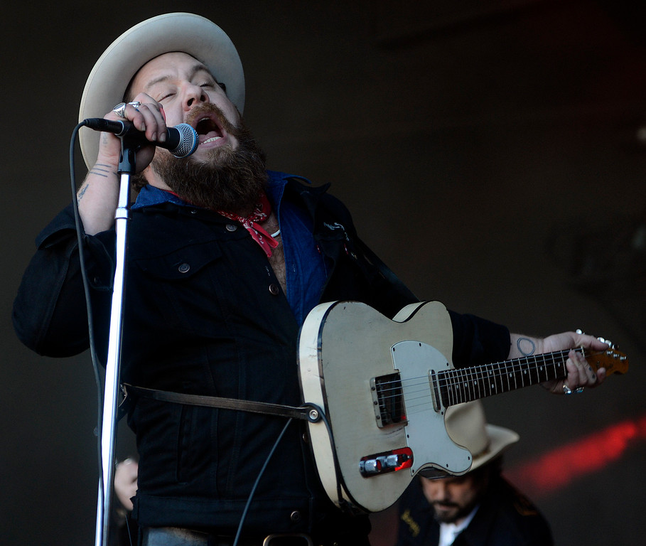 . Nethaniel Rateliff & the Night Sweats perform as the Monterey International Pop Festival Celebrates 50 Years at the Monterey County Fairgrounds and Event Center in Monterey on Friday June 16, 2017. (David Royal - Monterey Herald)