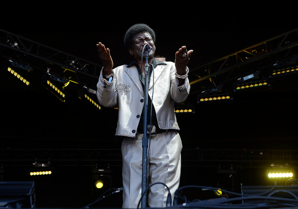 . Charles Bradley & His Extraordinaires perform as the Monterey International Pop Festival Celebrates 50 Years at the Monterey County Fairgrounds and Event Center in Monterey on Friday June 16, 2017. (David Royal - Monterey Herald)