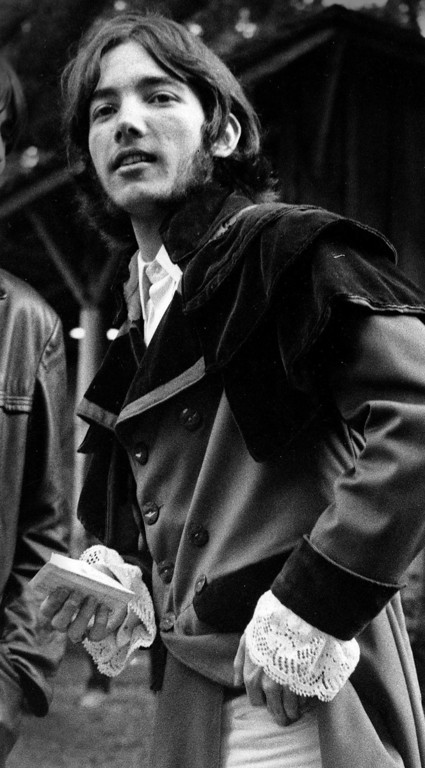 . David Allen from Los Angeles attends the Monterey International Pop Festival on Saturday, June 17, 1967.  (Monterey Herald)