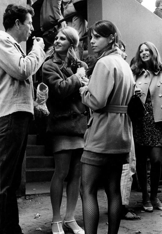 . The scene on Sunday, June 18, 1967 at the Monterey Fairgrounds during the Monterey International Pop Festival.  (Monterey Herald)