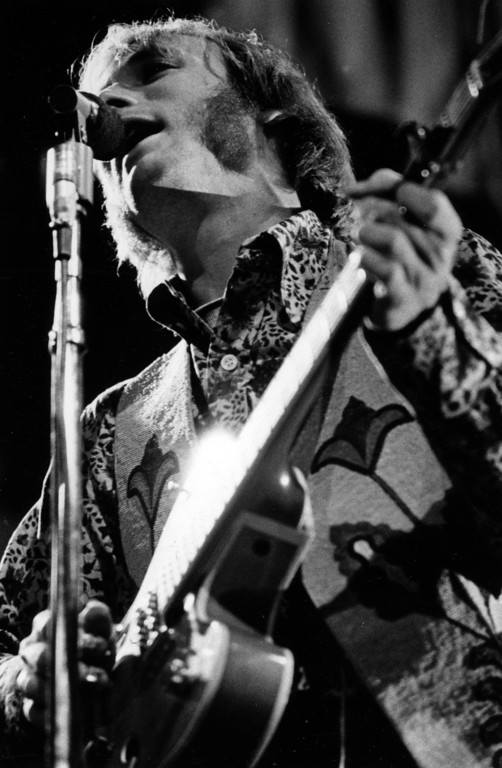 . Stephen Stills of Buffalo Springfield performs Sunday, June 18, 1967 at the Monterey International Pop Festival.  (Monterey Herald)