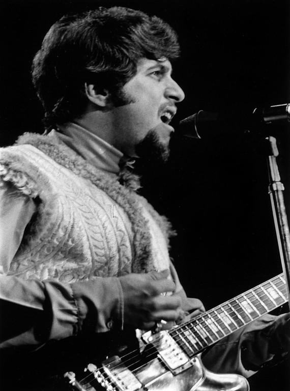 . Johnny Rivers performs Friday, June 16, 1967 during the Monterey International Pop Festival at the Monterey Fairgrounds.  (Monterey Herald)