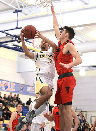 Monterey vs Saratoga CCS Basketball 030417