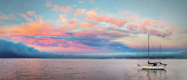 Pink Sky at Night Sailors Delight