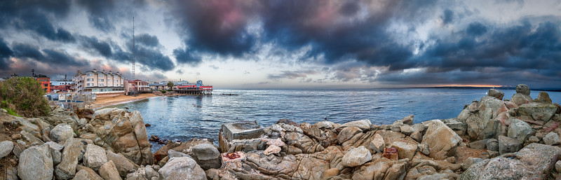 Clearing Storm on Cannery Row