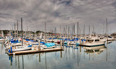 sailboats-harbor-clouds-1