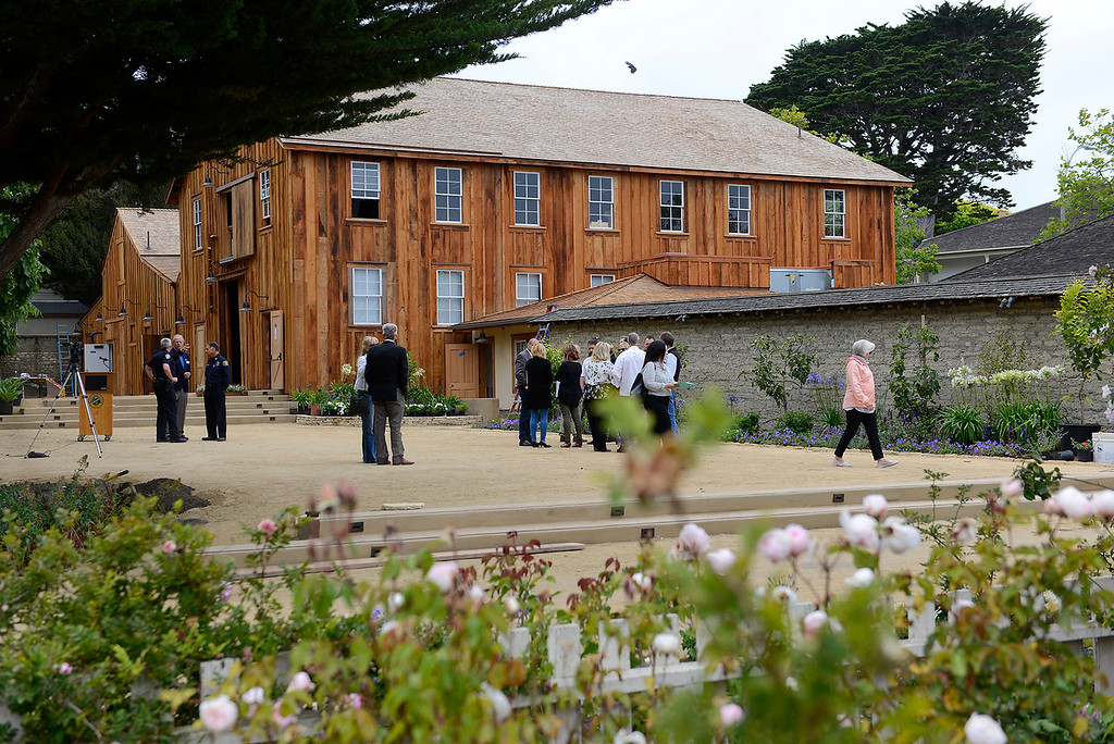 . The Cooper-Molera Adobe in Monterey on Wednesday, June 27, 2018.  Monterey will be celebrating a public reopening of the Cooper-Molera Adobe on Wednesday, July 4, from 12pm-4pm. The public will get a sneak peek at the restoration which is transforming this historic site built in 1827 into a event space for the whole community.  (Vern Fisher - Monterey Herald)