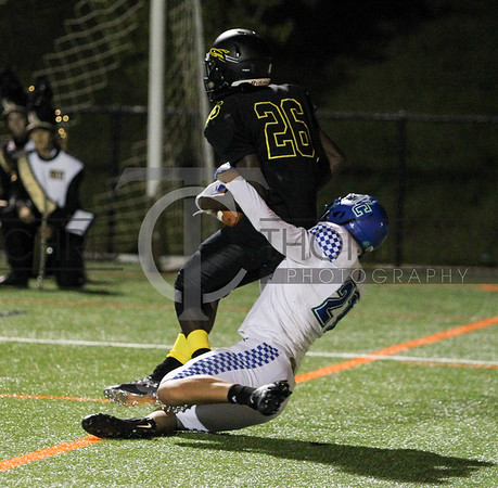 September 13, 2019 HS football action between Churchill HS and Richard Montgomery HS in Rockville, MD. Photos by Chris Thompkins/theSportsfannetwork