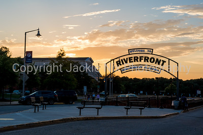 Montgomery Riverfront sign